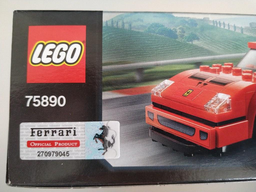 ThebrickReview: 75890 Ferrari F40 Competizione 46636394874_443f611e1f_b