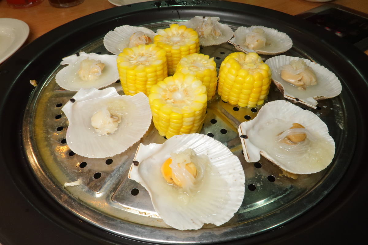 MQL Steamboat Steamed Scallops