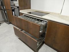 cajón interior y canal ventilación