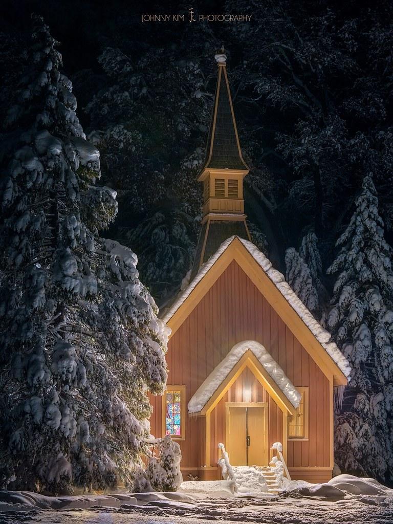 Safe House | Yosemite Valley Chapel, California | The name