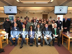 Rep. Ackert attends the Connecticut Association of Boards of Education Area 3 Legislative Breakfast