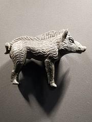 Third century bronze boar