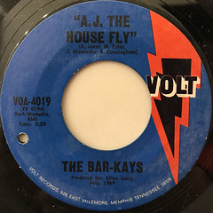 THE BAR-KAYS:MIDNIGHT COWBOY(LABEL SIDE-B)
