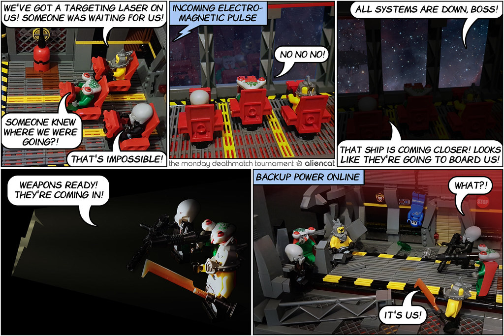 The Monday Deathmatch Tournament - Page 11 - Space Police Intro