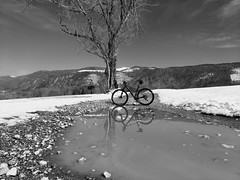 Melting Snow - Photo of Chavannaz