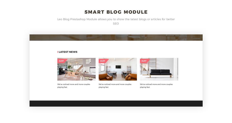 smart blog module - Bos Voyage - Furniture and Home Decor Prestashop theme