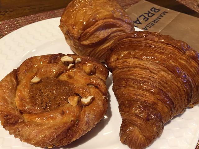 Hazelnut Babka Twist / Croissant / Pain au Chocolat