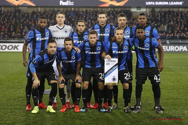 Club Brugge - FC Salzburg 14-02-2019
