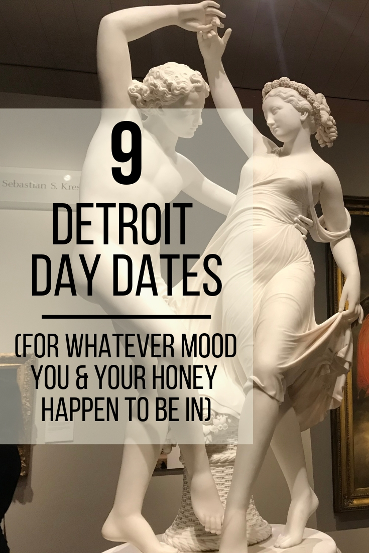 Looking for things to do in Detroit with your sweetie? Check out these 9 Detroit Day Date Ideas (For Whatever Mood You & Your Honey Happen To Be In) || Wading in Big Shoes
