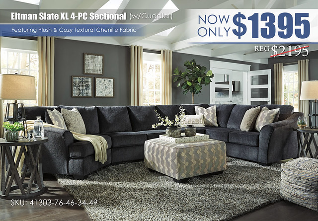 Eltman Slate XL 4PC Sectional wCuddler_41303-76-46-34-49-08-T711-PILLOW