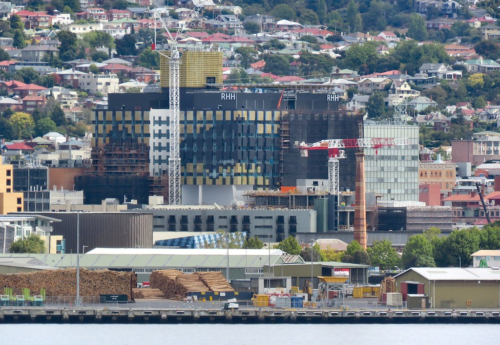 HOBART - #UC: Royal Hobart Hospital Redevelopment - 12st