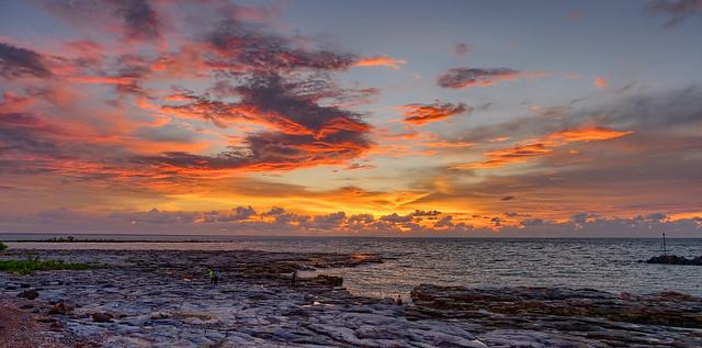 Timor Sea Sunset - Darwin, NT, Australia
