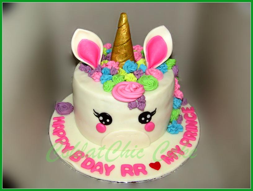 Cake Unicorn RR 15 cm