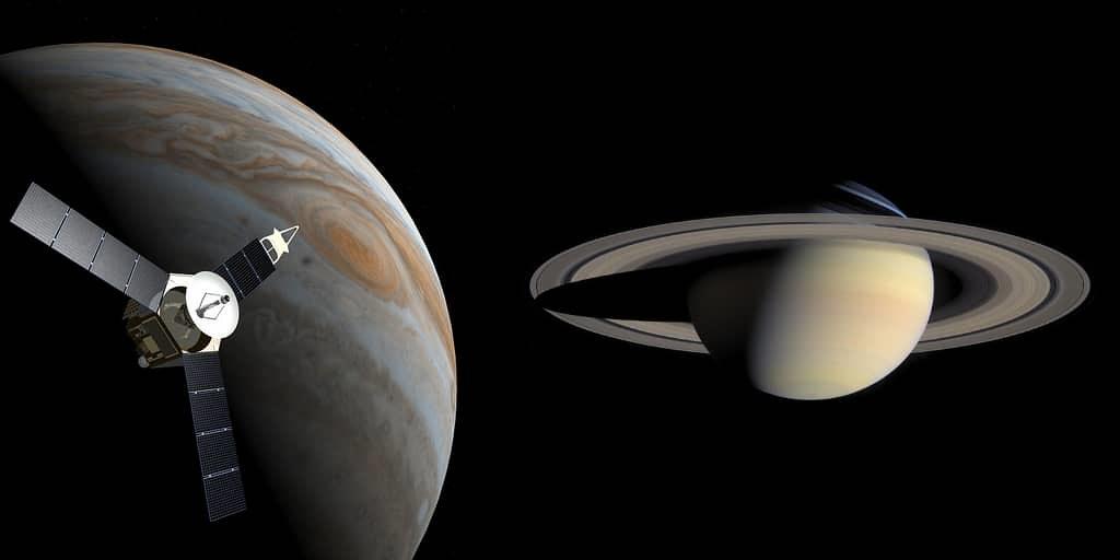 Des différences surprenantes entre Jupiter et Saturne