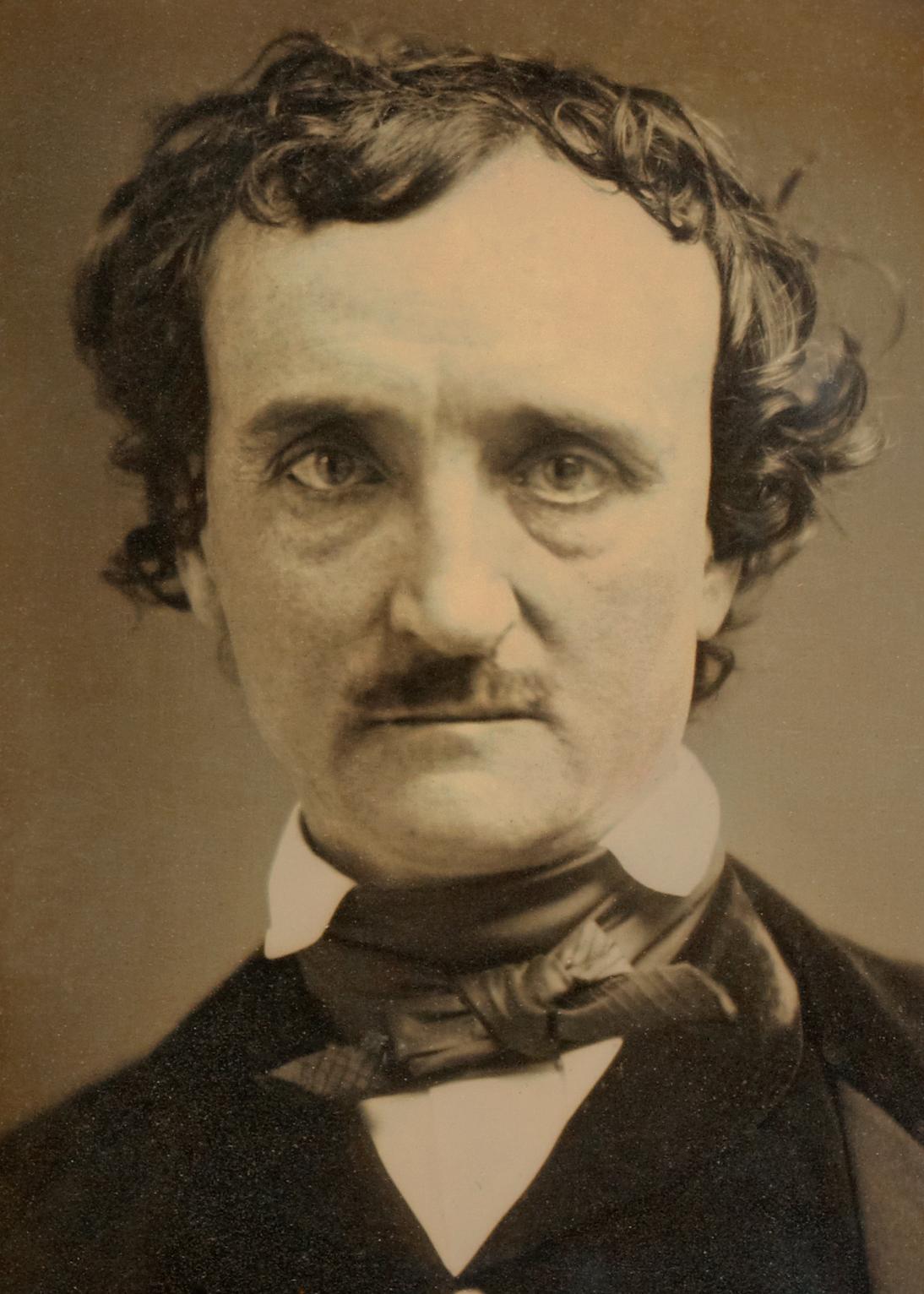 Daguerreotype of Edgar Allan Poe, known as the