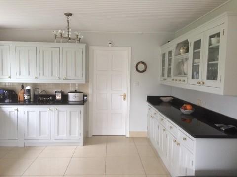 Kitchen hand-painted