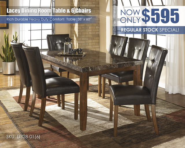 Lacey Dining Table & 6 Chairs_D328-25-01(6)-SD