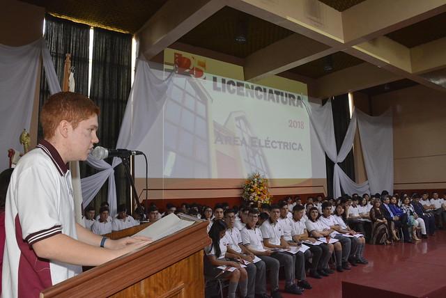 Licenciatura Área Eléctrica 2018