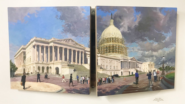 'Renovating The Capitol (Closed View)'