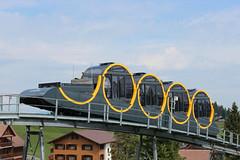 Stoos: nejprudší pozemní lanovka světa