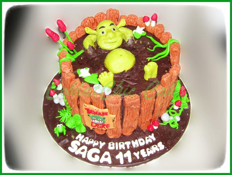 Cake Shrek SAGA 15 cm