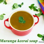 Murungakeerai Soup recipe