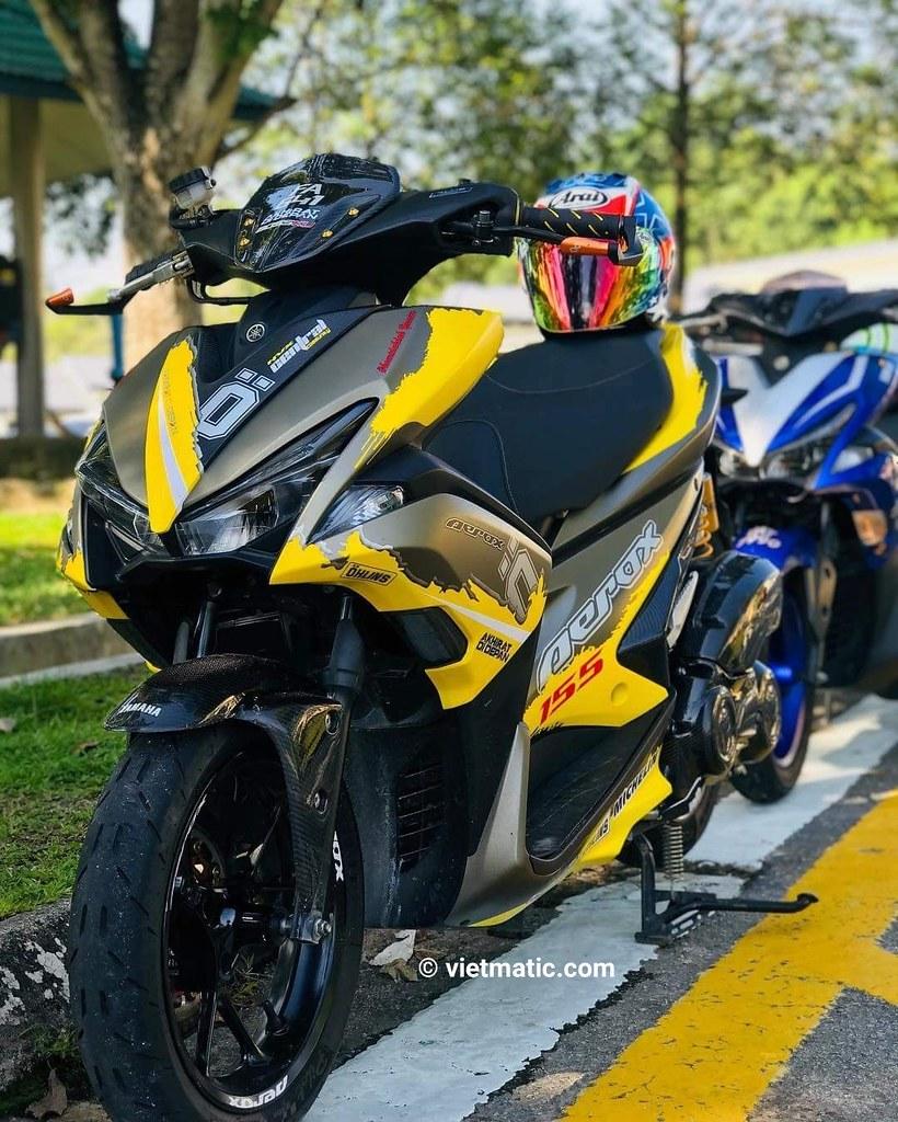 Yamaha NVX độ đẹp bản 2019