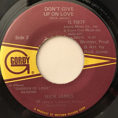 RICK JAMES:GIVE IT TO ME BABY(LABEL SIDE-B)