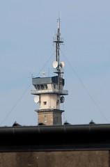 Fécamp - Le Sémaphore par-dessus les toits
