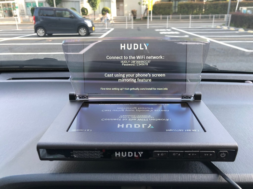 Hudly wireless display