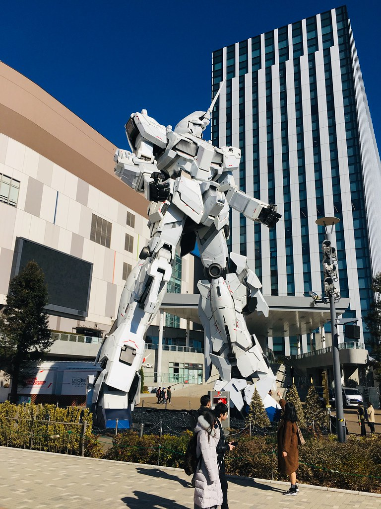 Diver City Gundam Museum Jan 2019