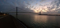 Narrows Sunset Pano