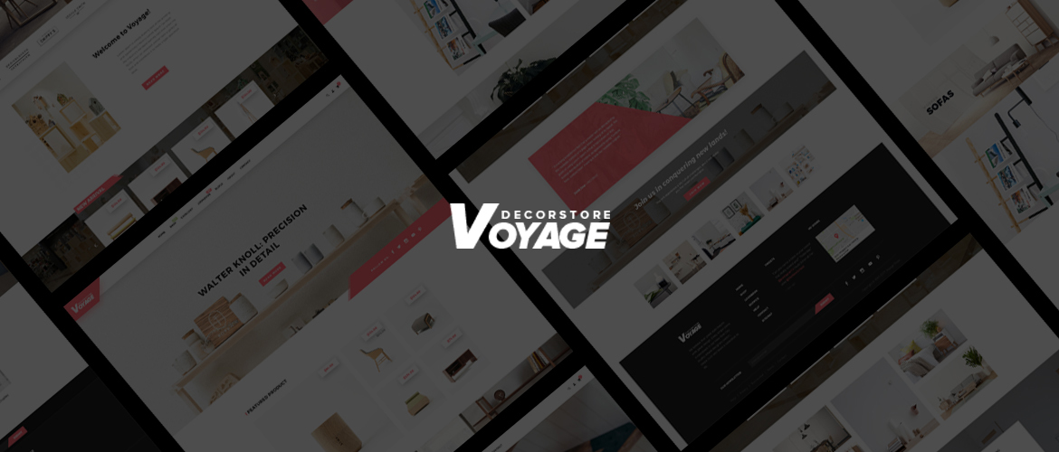 Bos Voyage - Furniture and Home Decor Prestashop Theme