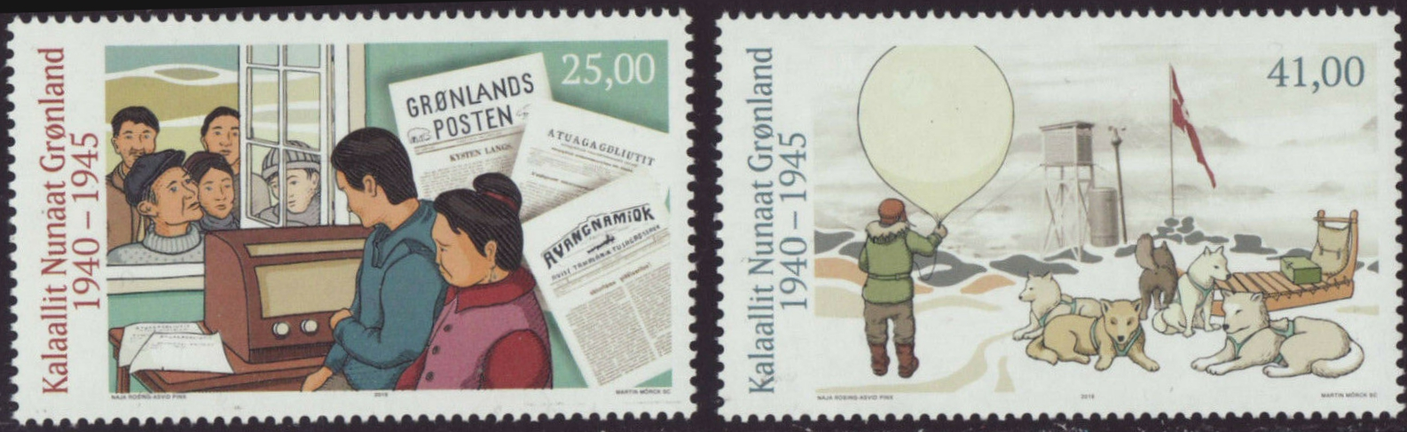 Greenland - Greenland in the Second World War, Part IV: Communications, Weather Stations (January 21, 2019)