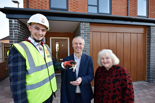 Conwy Close House Hand-over