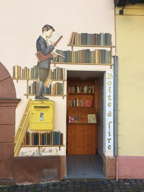 Boite à lire - Ribeauvillé