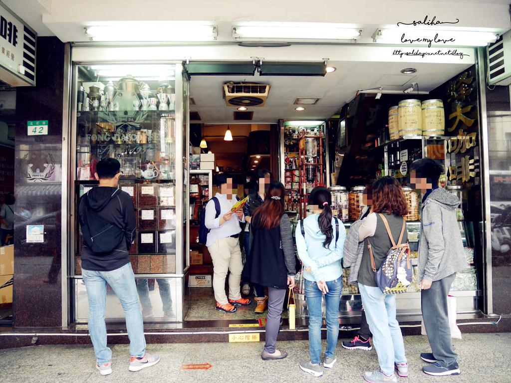 台北西門町紅樓附近老店咖啡廳下午茶推薦蜂大咖啡 (2)