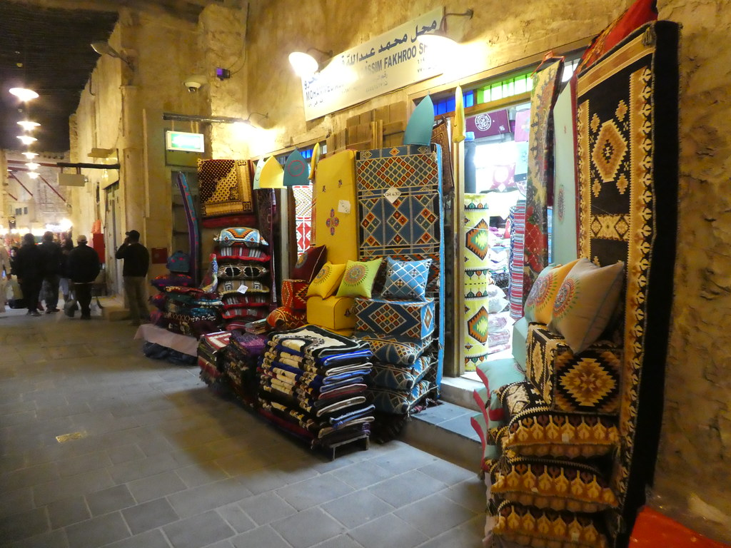 The Textile Souk, Souk Waqif, Doha