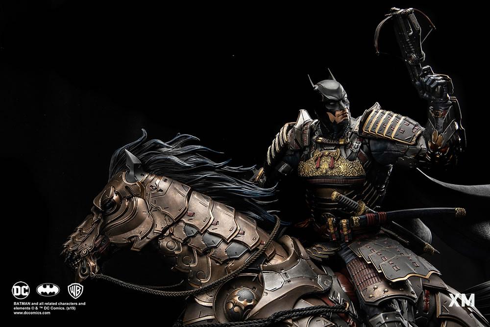 在戰場上所向披靡的大將軍!! XM Studios DC Premium Collectibles 系列【蝙蝠俠將軍】Batman Shogun 1/4 比例全身雕像作品