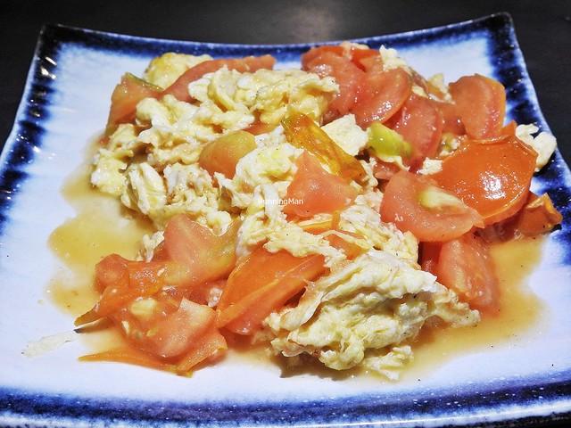 Stir-Fried Tomato Scrambled Eggs