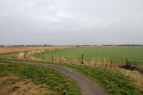 Kleasterpaad 5 km tussen Ried en Berlitsum.