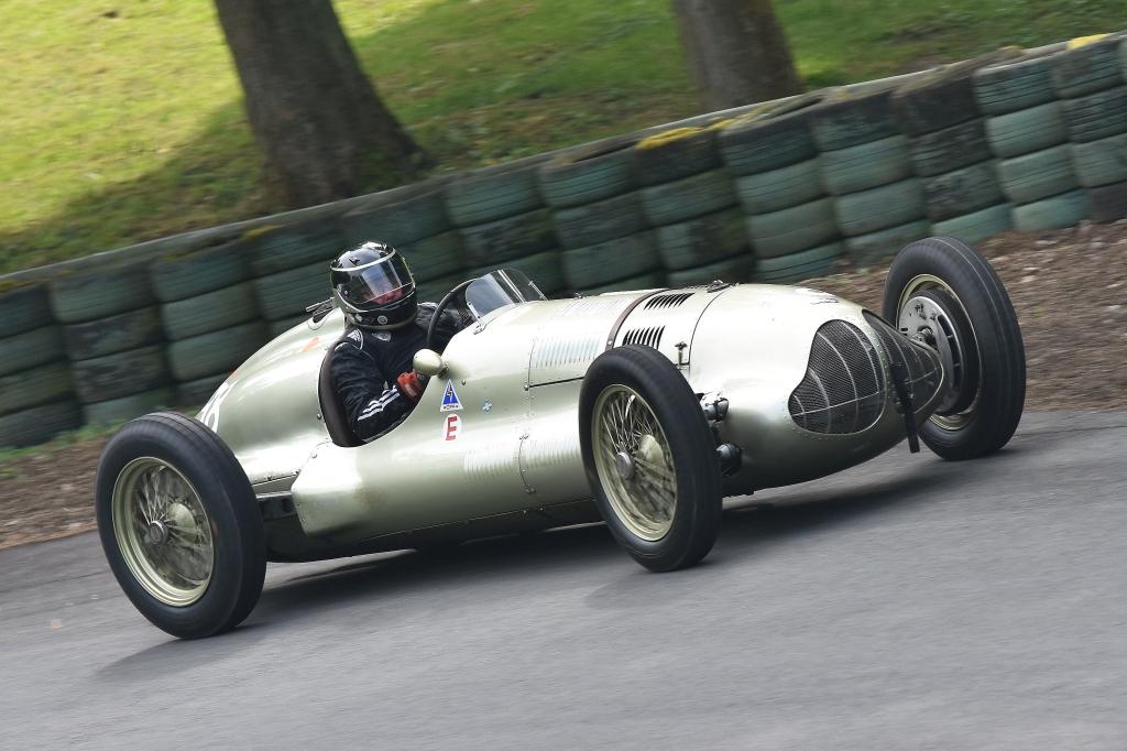 Duncan Ricketts, ERA E Type GP1 at Prescott (D Garnett)