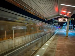 WMATA Metrorail Arriving @ McLean Station