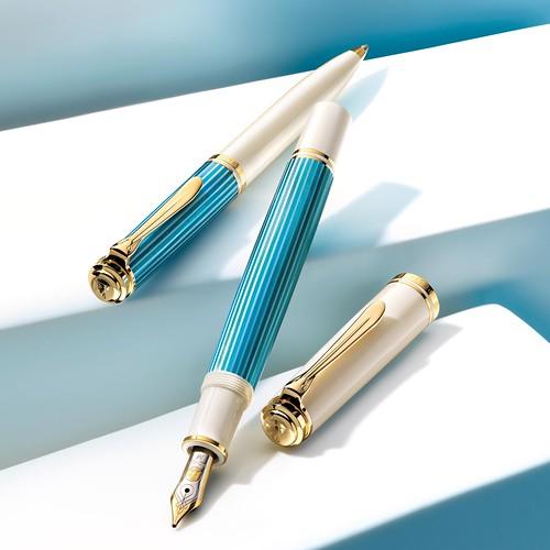 01 - pelikan-m600-turquoise-white-fountain-pen-nibsmith