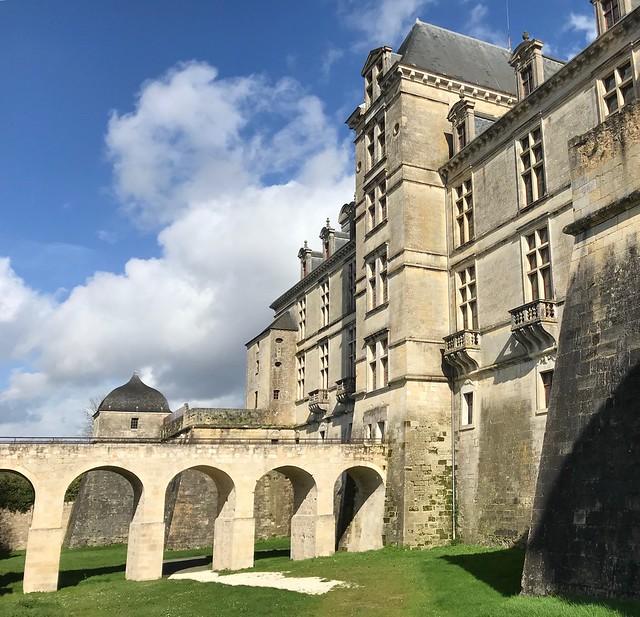Chateau Cadillac.  Gironde. France