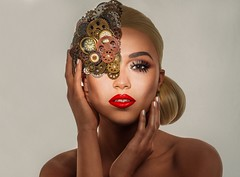 Beauty mini series. Timeless beauty. I also made the headpiece myself ??