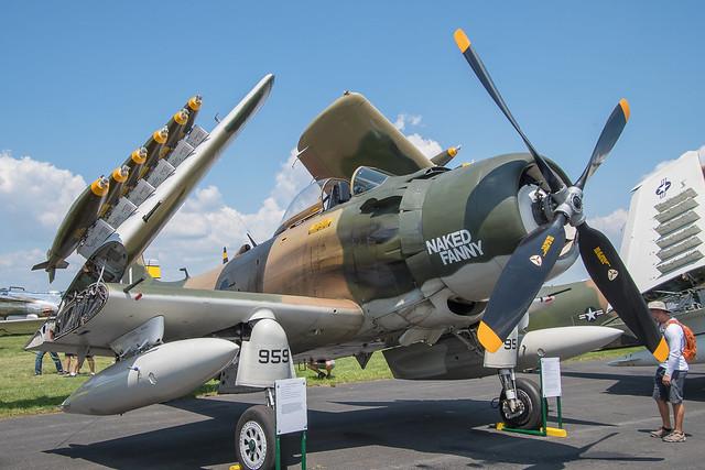 Douglas AD-4N Skyraider, BuNo126949, TT-959, AF 26-959, Na