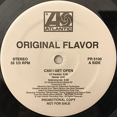 ORIGINAL FLAVOR:CAN I GET OPEN(LABEL SIDE-A)