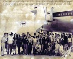 Viajes: Estados Unidos, 1973.