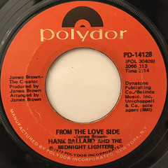 HANK BALLARD AND THE MIDNIGHT LIGHTERS:FROM THE LOVE SIDE(LABEL SIDE-A)